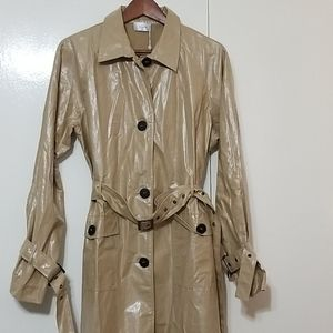 NWT Ginia long  trench coat